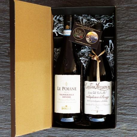 Panier garni Dégustation vins rouges
