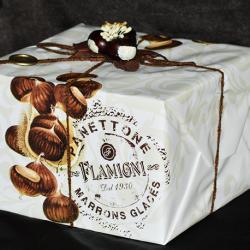 Panettone marrons glacés Flamigni 1kg
